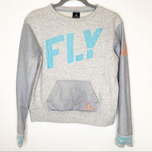 Nike Air Jordan Boys Fly Sweatshirt Size XXL